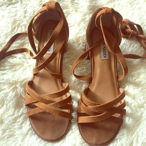 Steve Madden wrap around sandals